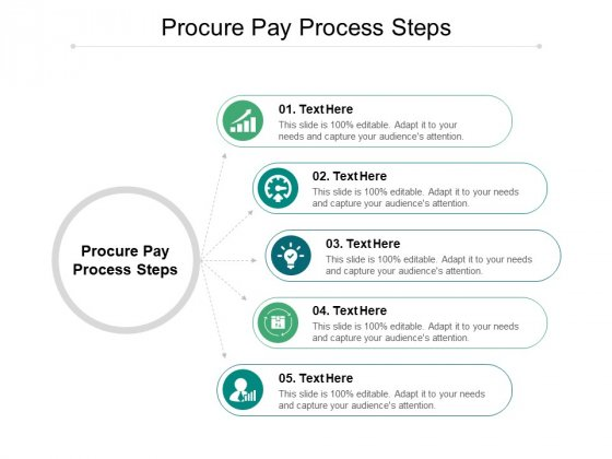 Procure Pay Process Steps Ppt PowerPoint Presentation Professional Template Cpb