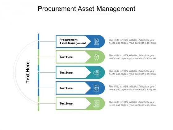 Procurement Asset Management Ppt PowerPoint Presentation Outline Pictures Cpb