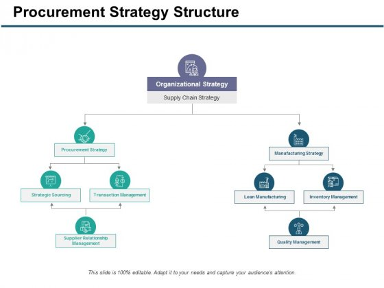 Procurement Strategy Structure Ppt PowerPoint Presentation Gallery Information