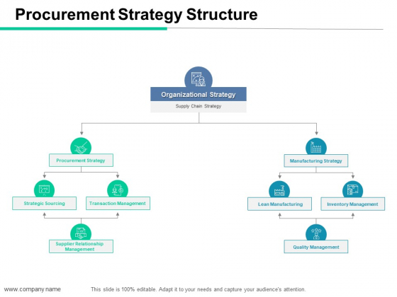 Procurement Strategy Structure Ppt PowerPoint Presentation Professional Outfit