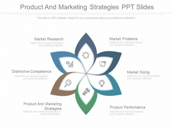 Product And Marketing Strategies Ppt Slides