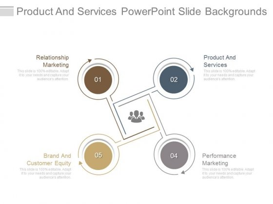 Product And Services Powerpoint Slide Backgrounds