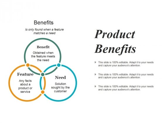 Product Benefits Ppt PowerPoint Presentation Infographic Template Summary