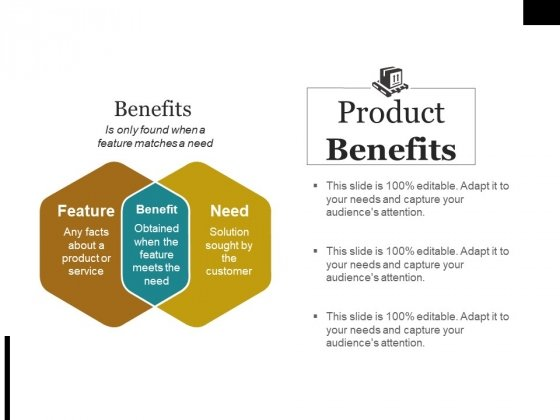 Product Benefits Ppt PowerPoint Presentation Outline Microsoft