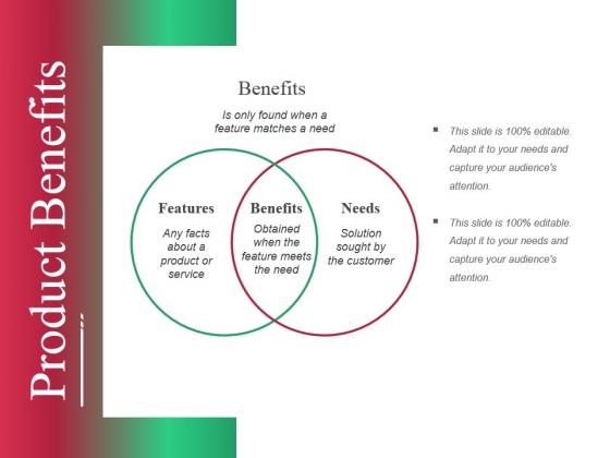 Product Benefits Ppt PowerPoint Presentation Portfolio Show