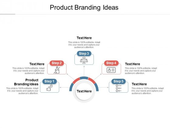 Product Branding Ideas Ppt PowerPoint Presentation Ideas Graphics Cpb