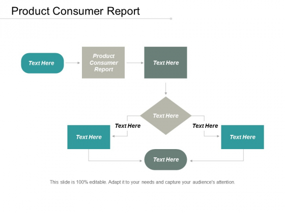 Product Consumer Report Ppt PowerPoint Presentation Ideas Cpb
