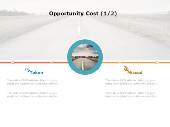 Product Cost Management PCM Opportunity Cost Taken Ppt Portfolio Graphics Tutorials PDF