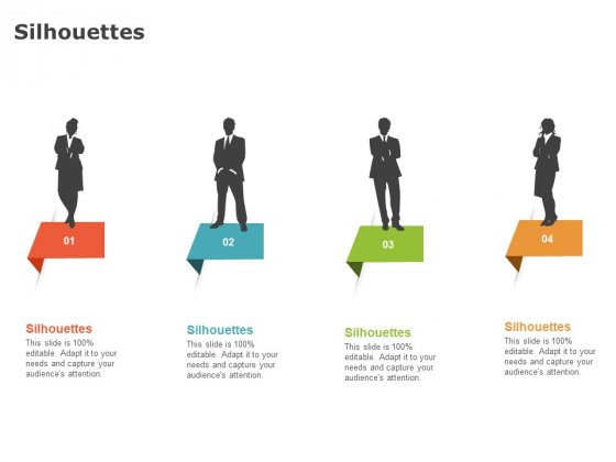 Product Cost Management PCM Silhouettes Ppt Gallery Graphic Images PDF