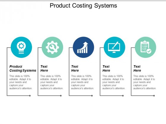 Product Costing Systems Ppt PowerPoint Presentation Outline Tips Cpb