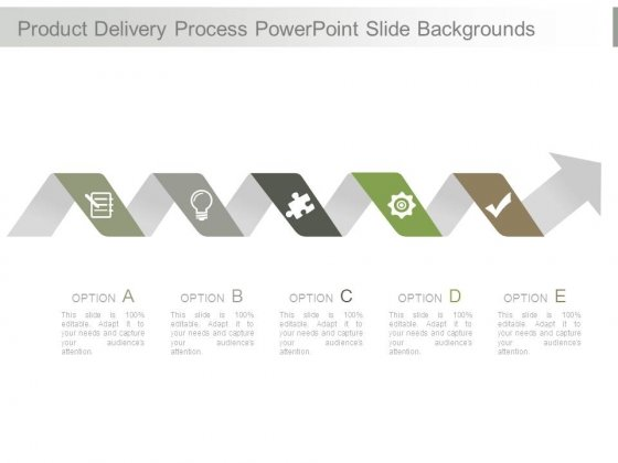 Product Delivery Process Powerpoint Slide Backgrounds