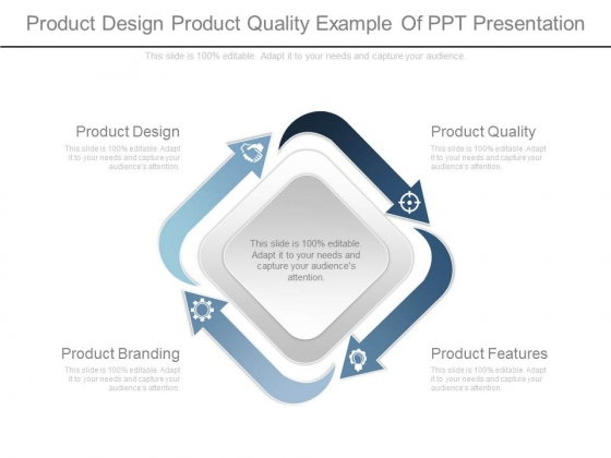 Product Design Product Quality Example Of Ppt Presentation