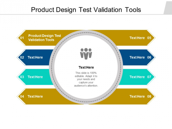 Product Design Test Validation Tools Ppt PowerPoint Presentation Inspiration Vector Cpb Pdf