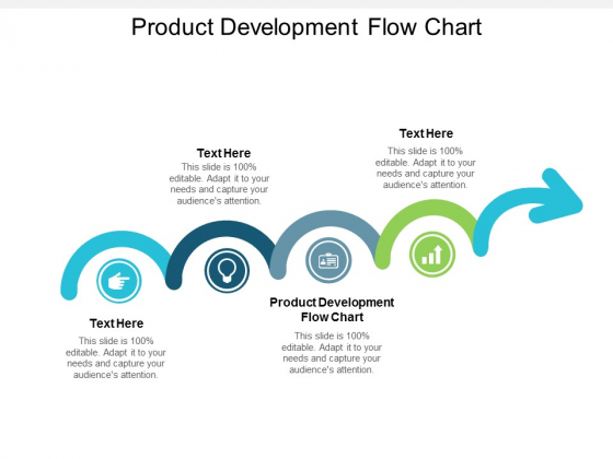 Product Development Flow Chart Ppt Powerpoint Presentation Show Background Image Cpb
