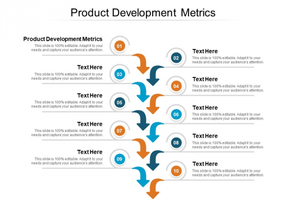 Product Development Metrics Ppt PowerPoint Presentation File Gallery Cpb