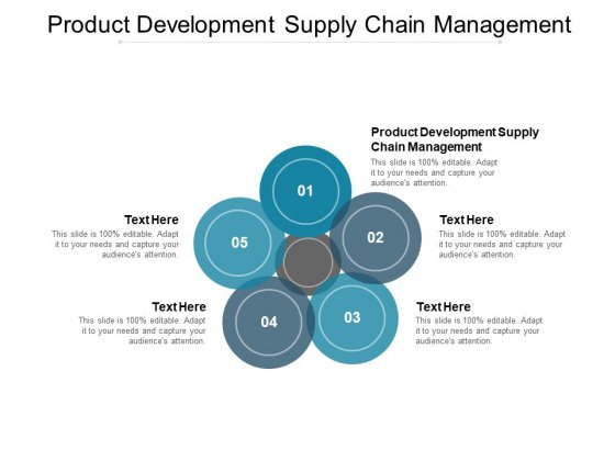 Product Development Supply Chain Management Ppt PowerPoint Presentation Icon Files Cpb