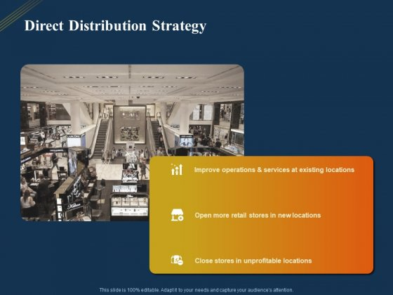 Product Distribution Sales And Marketing Channels Direct Distribution Strategy Ppt Pictures Background PDF