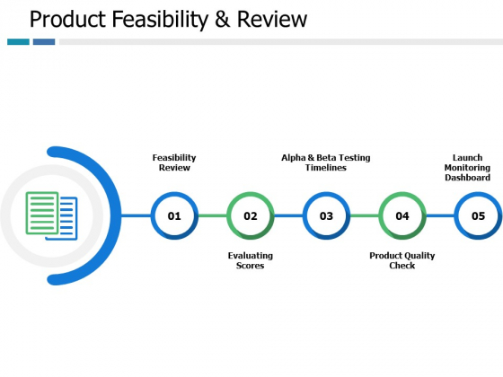 Product Feasibility And Review Ppt PowerPoint Presentation File Master Slide