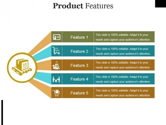 Product Features Ppt PowerPoint Presentation Slides Styles