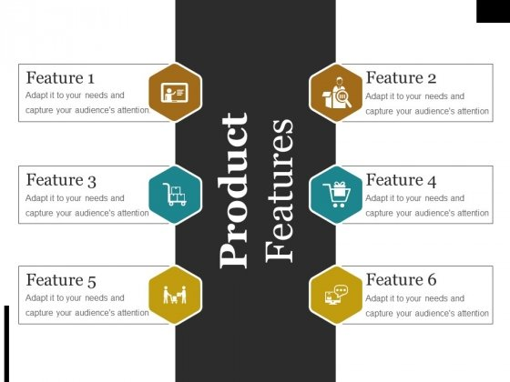 Product Features Template Ppt PowerPoint Presentation File Example File