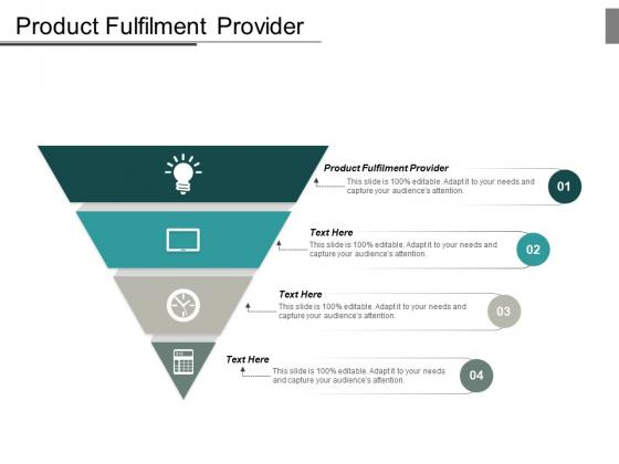 Product Fulfilment Provider Ppt PowerPoint Presentation Slides Brochure