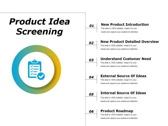 Product Idea Screening Ppt PowerPoint Presentation Layouts Mockup