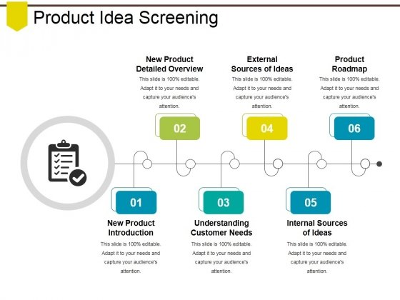 Product Idea Screening Ppt PowerPoint Presentation Show Example