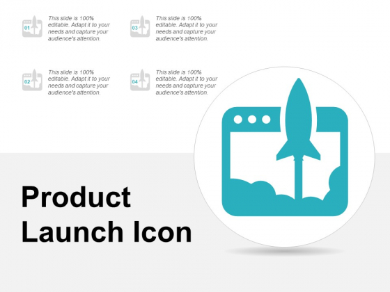 Product Launch Icon Ppt Powerpoint Presentation Summary Show