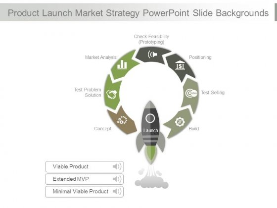 Product Launch Market Strategy Powerpoint Slide Backgrounds