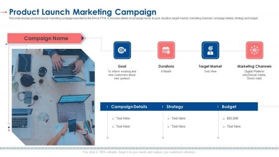 Product Launch Marketing Campaign Ppt Portfolio Layout PDF