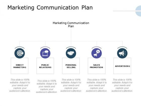 Product Launch Marketing Plan Marketing Communication Plan Ppt Professional Maker PDF