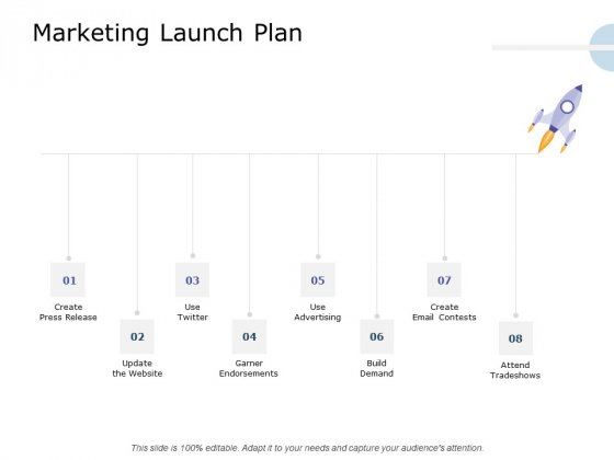 Product Launch Marketing Plan Marketing Launch Plan Ppt Inspiration Aids PDF