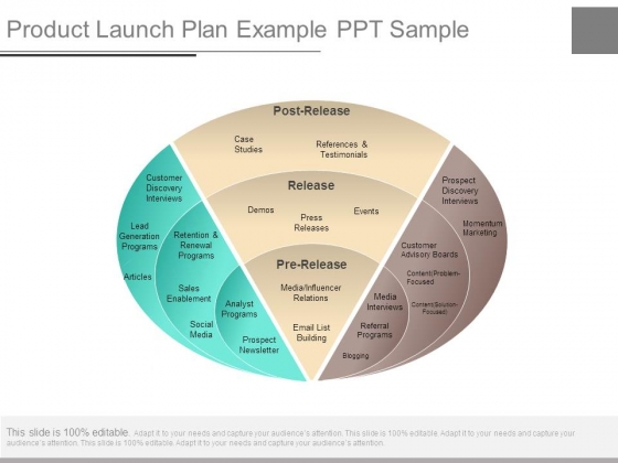 Product Launch Plan Example Ppt Sample