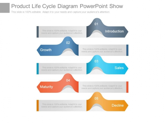 Product Life Cycle Diagram Powerpoint Show