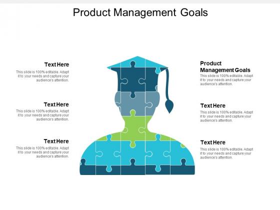 Product Management Goals Ppt PowerPoint Presentation Slides Sample Cpb