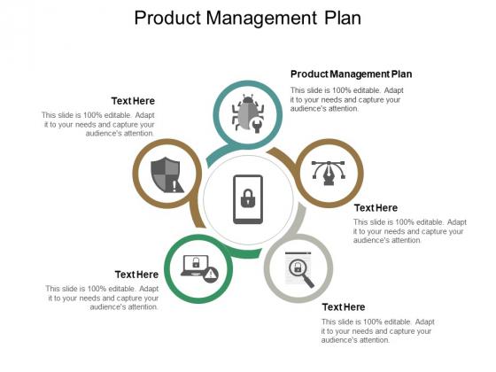 Product Management Plan Ppt PowerPoint Presentation Portfolio Example Cpb
