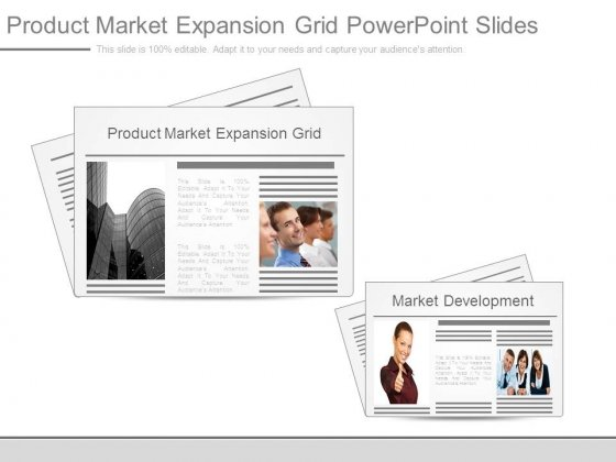 Product Market Expansion Grid Powerpoint Slides