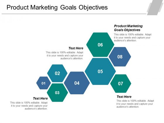 Product Marketing Goals Objectives Ppt PowerPoint Presentation Portfolio Ideas