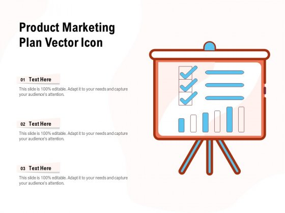 Product Marketing Plan Vector Icon Ppt PowerPoint Presentation Slides Icons PDF