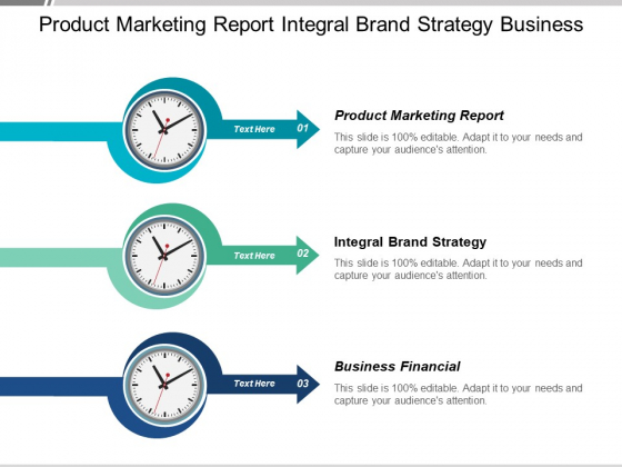 Product Marketing Report Integral Brand Strategy Business Financial Ppt PowerPoint Presentation Inspiration Backgrounds