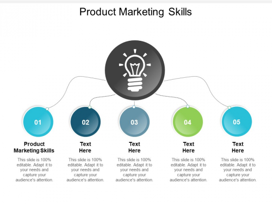 Product Marketing Skills Ppt PowerPoint Presentation Icon Topics Cpb