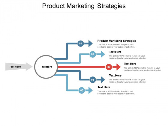 Product Marketing Strategies Ppt Powerpoint Presentation Infographics Images Cpb
