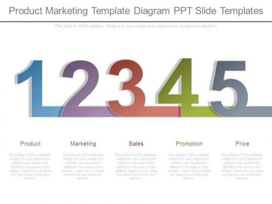 Product Marketing Template Diagram Ppt Slide Templates