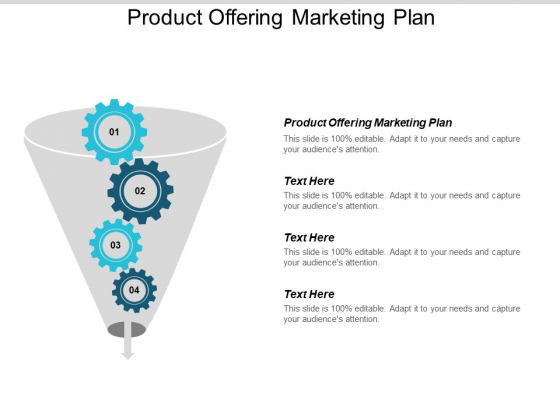 Product Offering Marketing Plan Ppt PowerPoint Presentation Infographic Template Visuals Cpb