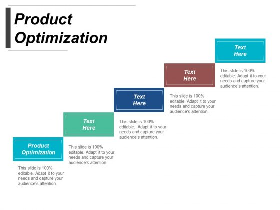 Product Optimization Ppt PowerPoint Presentation Infographics Show Cpb