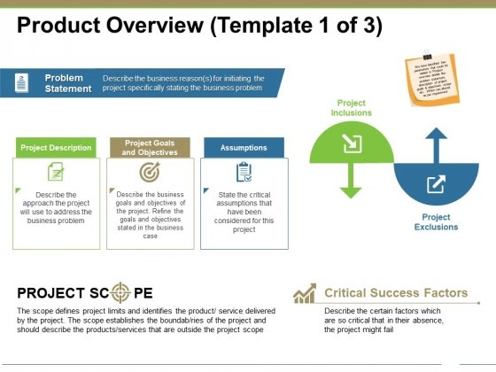 Pretty problem statement template powerpoint pictures 9 problem product overview template 1 ppt powerpoint presentation portfolio friedricerecipe Images