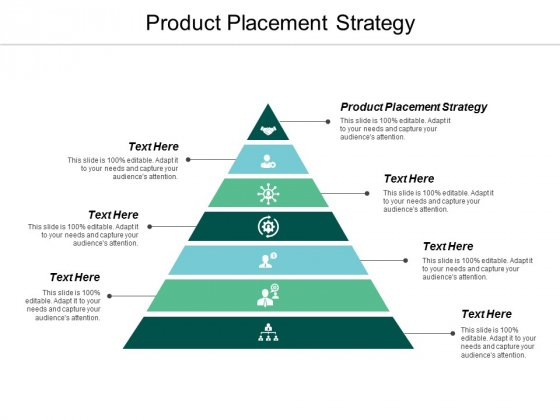Product Placement Strategy Ppt Powerpoint Presentation Gallery Model Cpb