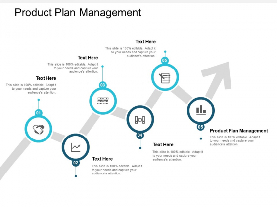 Product Plan Management Ppt PowerPoint Presentation Visual Aids Inspiration Cpb