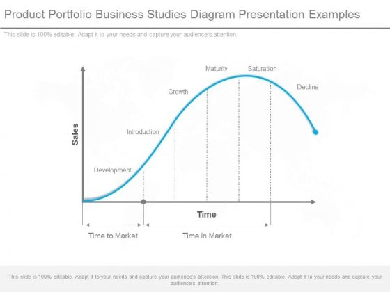 Product Portfolio Business Studies Diagram Presentation Examples
