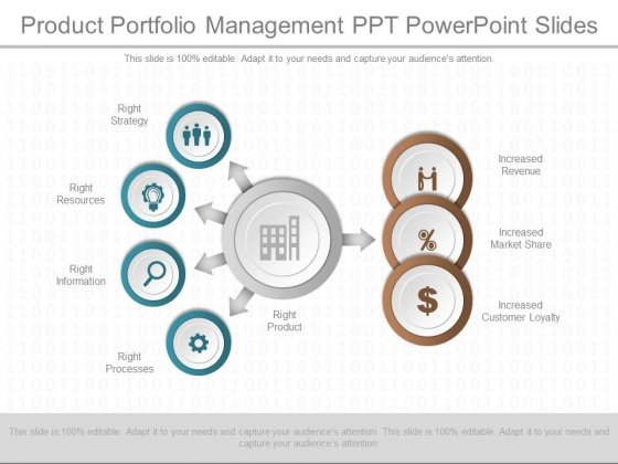 Product development portfolio management in expansion.